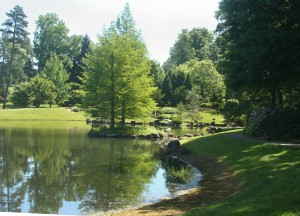 photo of the Japanese Garden, Dawes Arboretum, Ohio