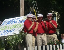 the Kiwanis barbershop quartet