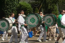 the 4-H marching band