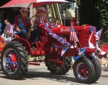 antique Farmall Tractor