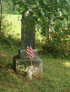 photo of the grave of a Civil War soldier