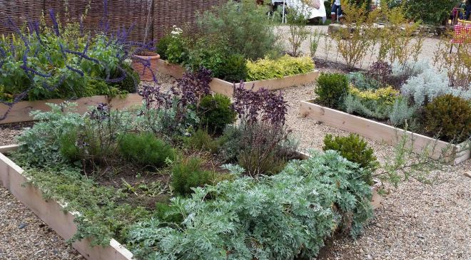 projects&promises|herb garden beds at Warwick Farm