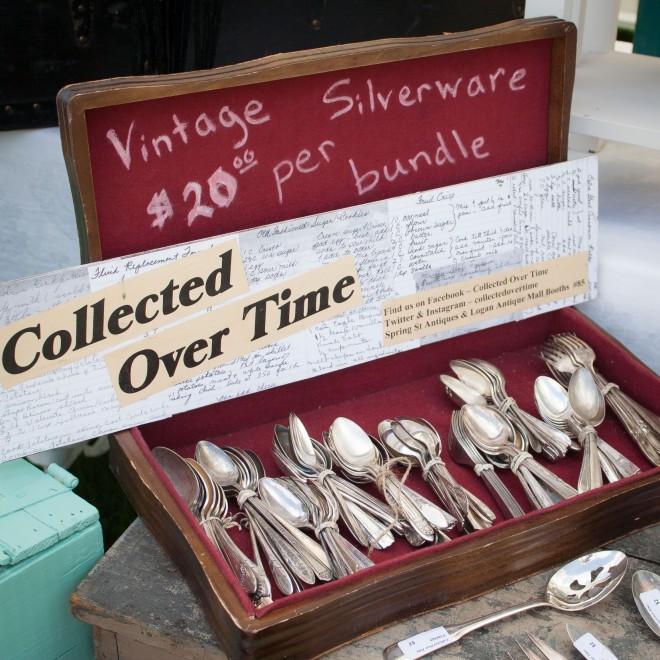 Vintage flatware.