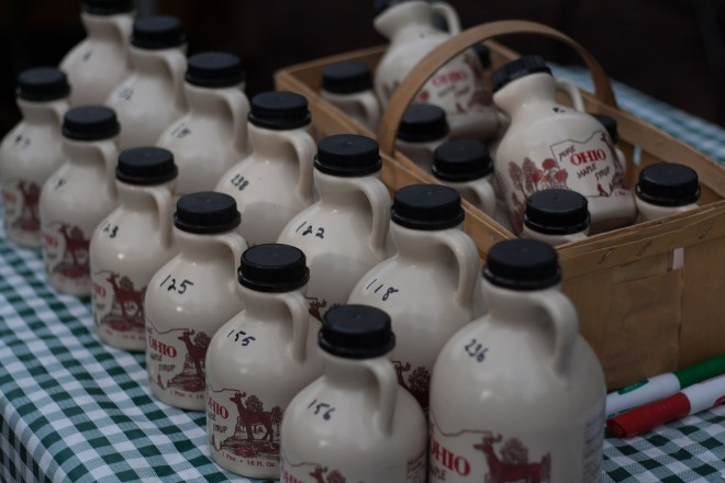 ohio maple syrup from Flying J Farm